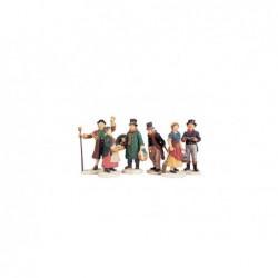 LEMAX Gente del Villaggio-Village People Figurines