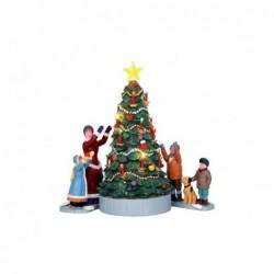 LEMAX L'albero di natale-The village tree set of 3