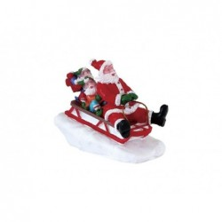 LEMAX Slittino con Babbo Natale-Sledding with Santa
