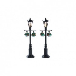 LEMAX Vecchi lampioni inglesi-Old english lamp post