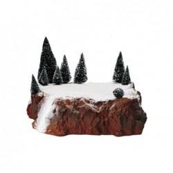 LEMAX Squarcio di roccia con alberi grande-Medium Village display platform