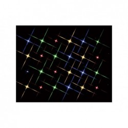 LEMAX Luci led lampeggianti multicolor-Super Bright 24 Multicolor Light String
