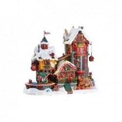LEMAX Fabbrica di giocattoli degli elfi-Elf made toy Factory