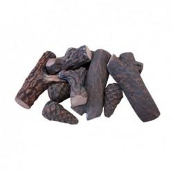 XONE Legnetti in ceramica 9 pz per biocamino