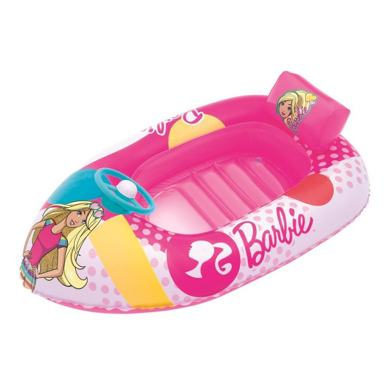 BESTWAY Canottino barca gonfiabile barbie