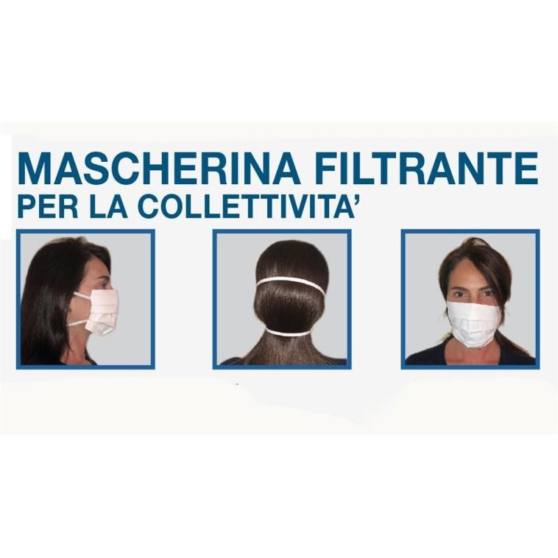 XONE Mascherina filtrante 100% cotone