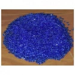 ROSSI ROSA Granella gemme piccole azzurre per presepe