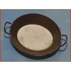 ROSSI ROSA Bacinella ferro invecchiato 4 cm per presepe