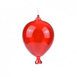 ENZO DE GASPERI Palloncino in vetro rosso