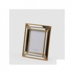 ENZO DE GASPERI Portafoto Specchiato Liberty 25x20cm Oro