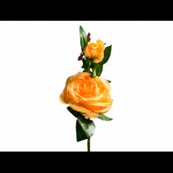 XONE Rosa h. 44 cm colore giallo/arancio