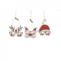 MERCURY Dietroporta natalizio in legno