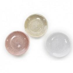 MERCURY Piatto in vetro cotton 16,5cm