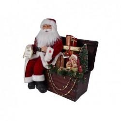 MERCURY Babbo natale nel forziere dei regali con luci