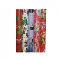 KAEMINGK Carta regalo Disney assortita 70x2mt