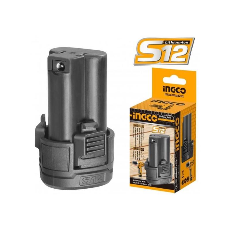 INGCO Batteria 12v litio 1,5ah