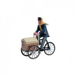 LEMAX Portalettere in bicicletta