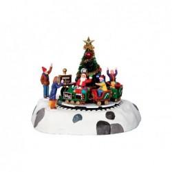 LEMAX Trenino di Babbo Natale - Santa's Kiddie Train
