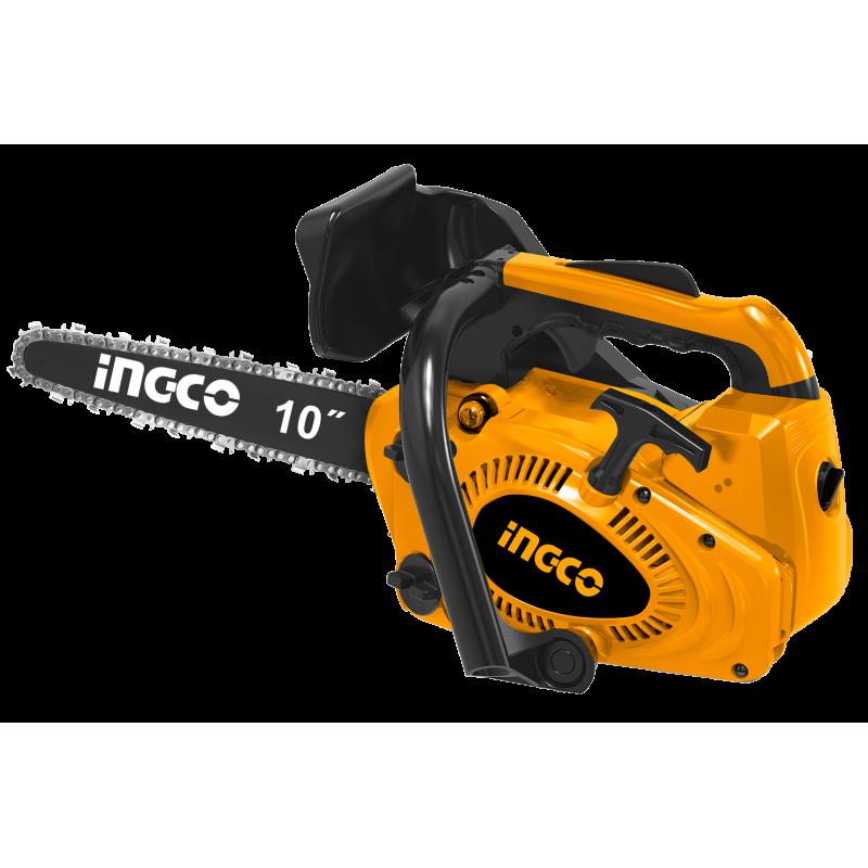 INGCO Motosega a scoppio carving 10'' 1HP