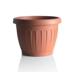 BAMA Vaso terra color terracotta