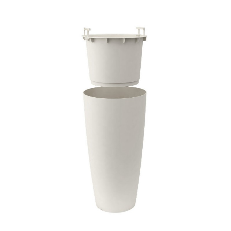 NICOLI Vaso Style bianco