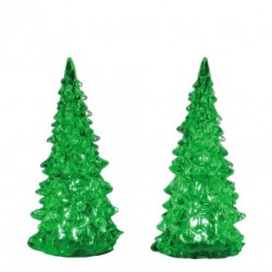 LEMAX Alberi luminosi medi multicolor-Crystal lighted tree, 3 color changeable medium