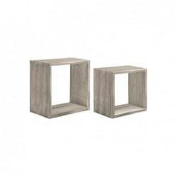 SANITEC Mensola Q-bis Maxi rovere grigio
