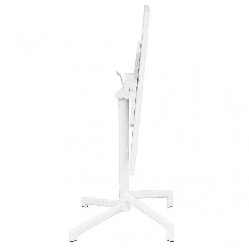 COSMA Tavolo Vega 70x70cm bianco