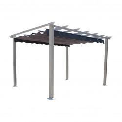 COSMA Gazebo Astoria tortora telo grigio 3x4