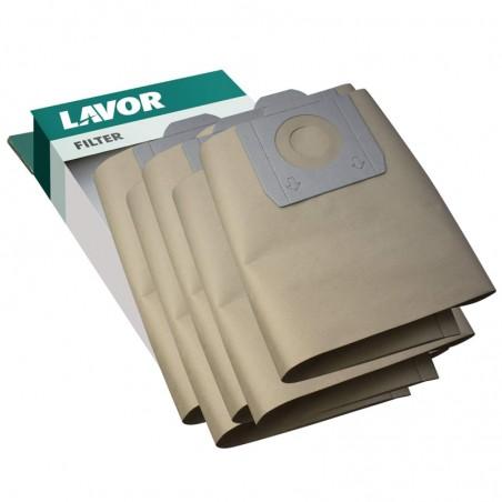 LAVORWASH 5 sacchetti raccogli polvere per gn/gb 32 lt