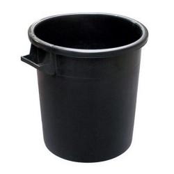 MOBIL PLASTIC Bidone nero industriale 50/100 litri