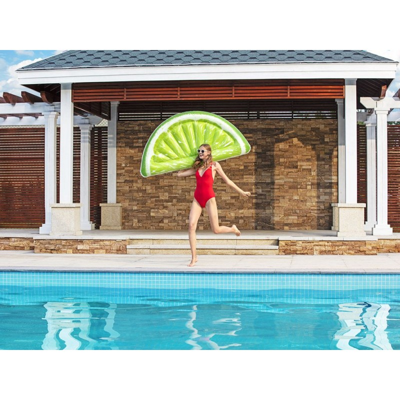 BESTWAY Materassino fashion 3d lime 171x89cm