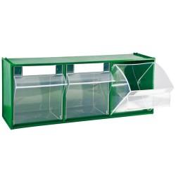 MOBIL PLASTIC Madia cassetti verde