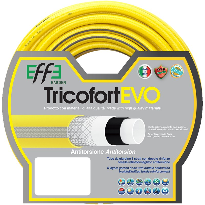 EFFE Tubo Tricofort Evo bianco-giallo 6 strati