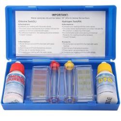 OUTDOOR EXPERIENCE Test kit reagenti chimici ph e cloro