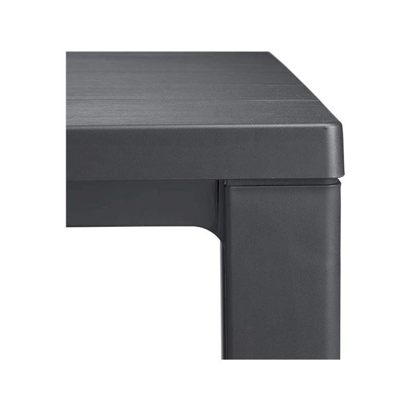 KETER OUTDOOR Tavolo julie graphite effetto legno