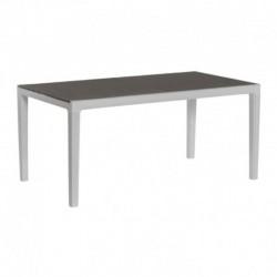 KETER Tavolo harmony grigio/bianco