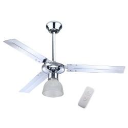 EFFE Ventilatore da soffitto con luce e telecomando