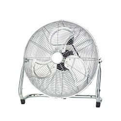 EFFE Ventilatore da pavimento cromato 120w