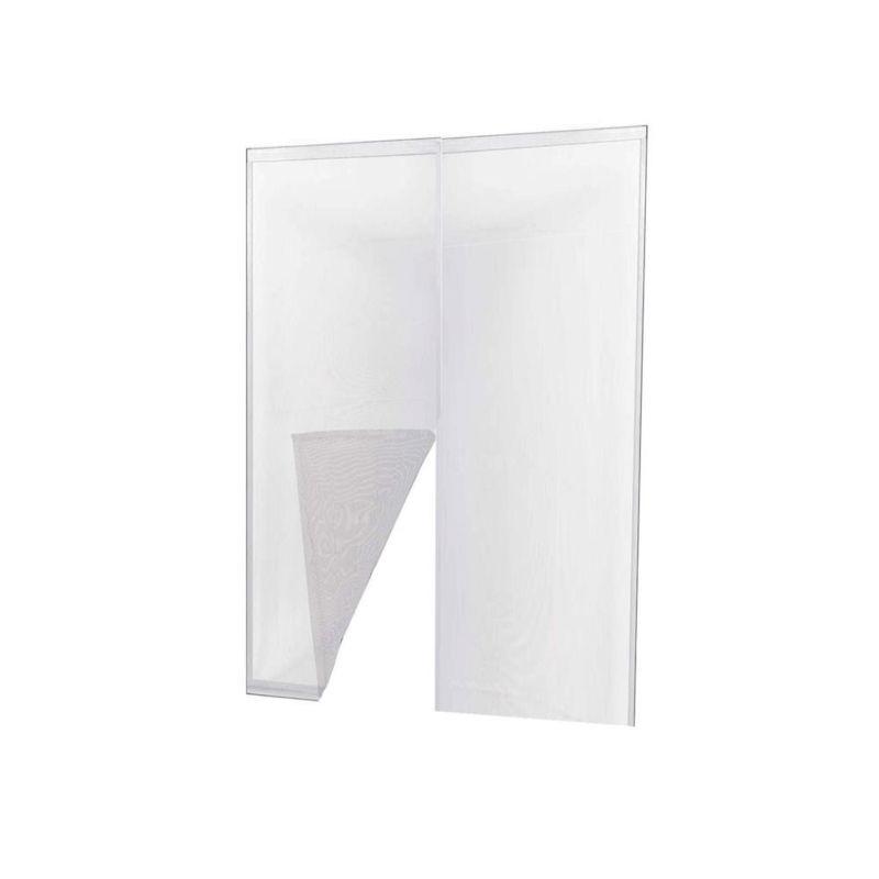 IRS Zanzariera adesiva porta bianca