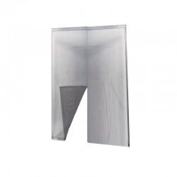 IRS Zanzariera adesiva porta 140x250 grigia