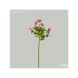 ENZO DE GASPERI Ramo ranuncolo chic rosa h 55cm