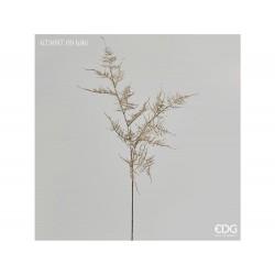 ENZO DE GASPERI Ramo asparagus glitter x3 h86cm gold