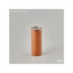 ENZO DE GASPERI Sabbia colorata lattina gr 800 arancio