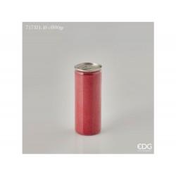 ENZO DE GASPERI Sabbia colorata lattina gr 800 rosso