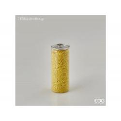 ENZO DE GASPERI Ghiaia fine lattina gr 800 giallo