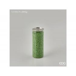 ENZO DE GASPERI Ghiaia fine lattina gr 800 verde scuro