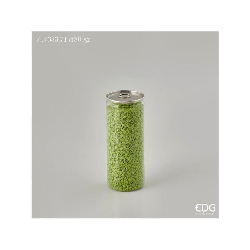 ENZO DE GASPERI Ghiaia fine lattina gr 800 verde chiaro