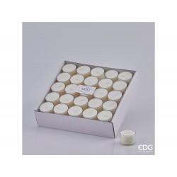 ENZO DE GASPERI Candela lumino confezione da 50 pezzi