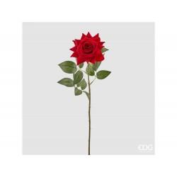 ENZO DE GASPERI Rosa bliss aperta rosso h.62